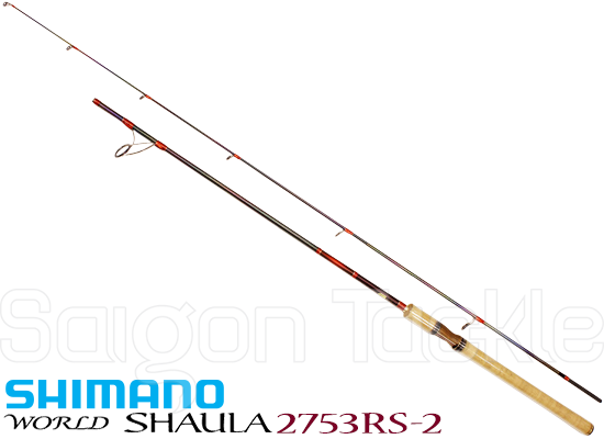 SHIMANO WORLD SHAULA 2753RS-2 (NEW 2016 - RED TYPE MODEL)