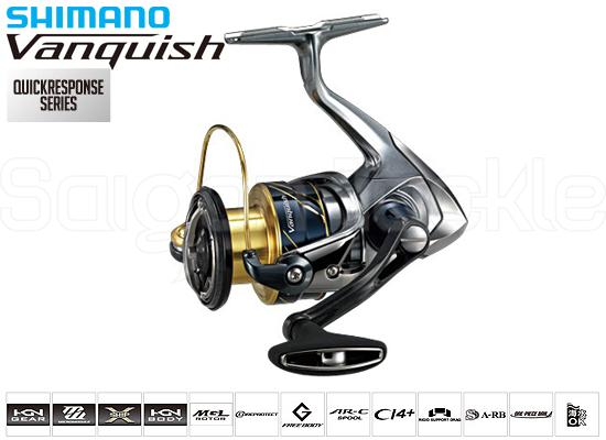 SHIMANO VANQUISH 3000XG (2016 MODEL )
