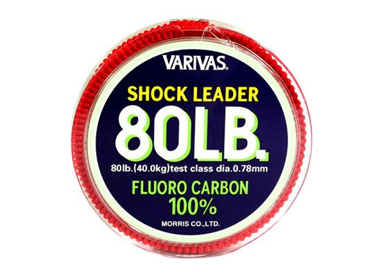 VARIVAS SHOCK LEADER 100% FLUORO - 80LB (30 mét)