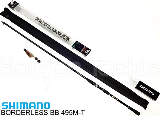 SHMANO BORDERLESS BB 495M-T (Cần Iso)