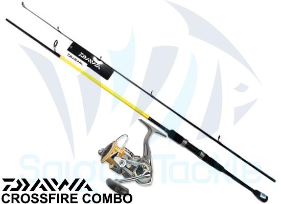 DAIWA COMBO CROSSFIRE 3000 & CROSSFIRE 702 MS
