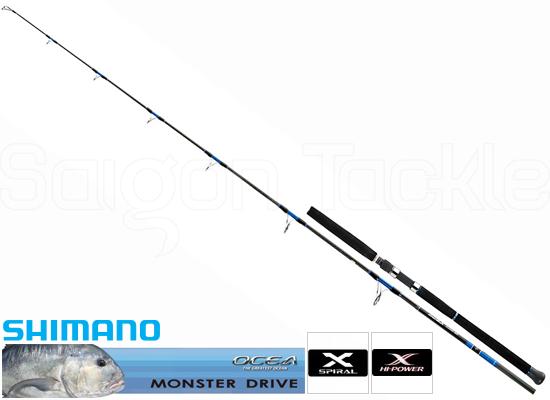 SHIMANO OCEA PLUGGER BG 83M - MONSTER DRIVE