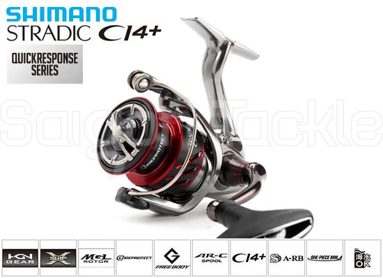 SHIMANO STRADIC CI4+ C3000HG