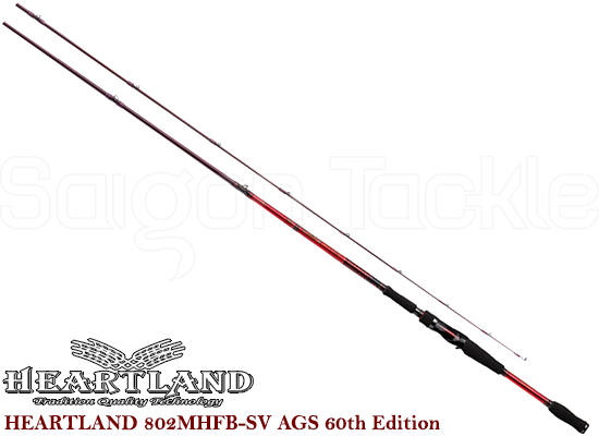 DAIWA HEARTLAND 802MHFB-SV AGS 60th Edition