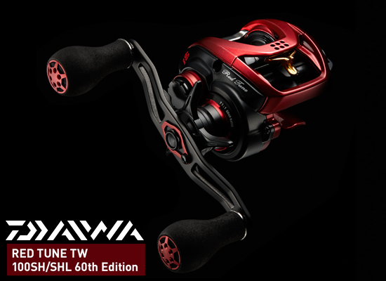 DAIWA RED TUNE TW 100SHL - 60TH EDITION