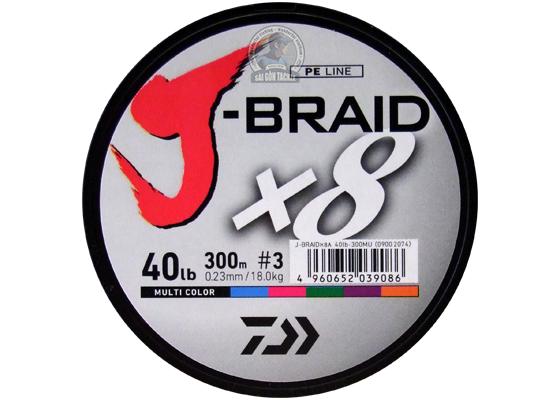 DAIWA J-BRAID #4 ( 64LB ) - 300M