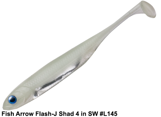 Fish Arrow Flash-J Shad 4in SW #L145