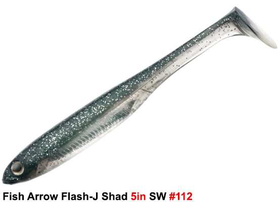 Fish Arrow Flash-J Shad 5in SW #112