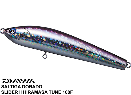 SALTIGA DORADO SLIDER GIRAGIRA SERUGO - 160F