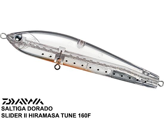 SALTIGA DORADO SLIDER CLEAR SHIHARU - 160F