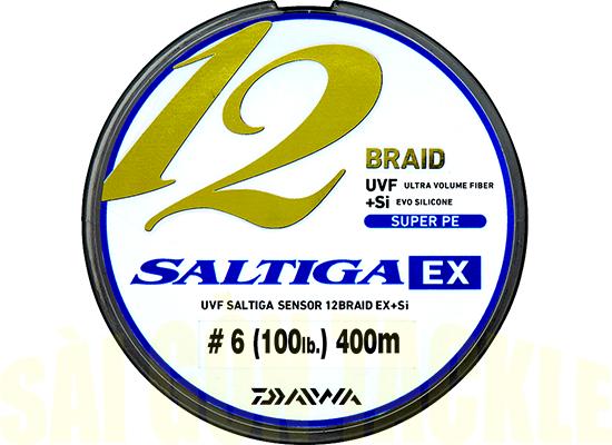 12 BRAIDS SUPER PE SALTIGA EX #6 - 400M