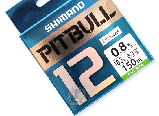 SHIMANO PITBULL 12 BRAID 150M - #0.8