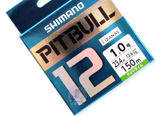 SHIMANO PITBULL 12 BRAID 150M - #1