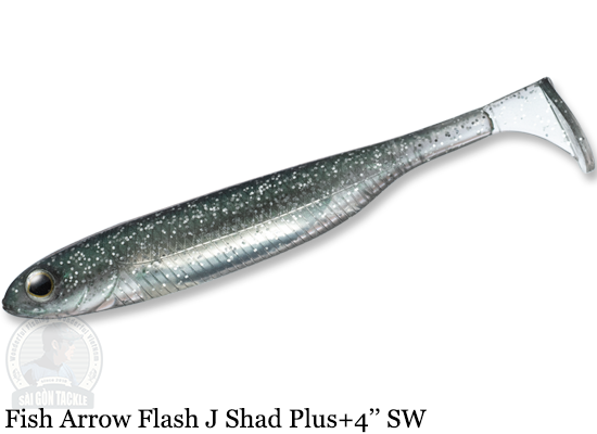 FISH ARROW FLASH J SHAD PLUS+ SW 4'' - 112