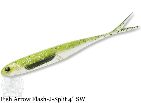 FISH ARROW FLASH-J SPLIT SW 4'' - 102