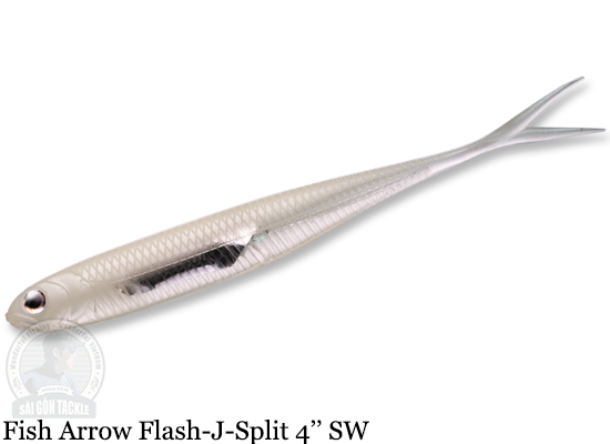 FISH ARROW FLASH-J SPLIT SW 4'' - L134