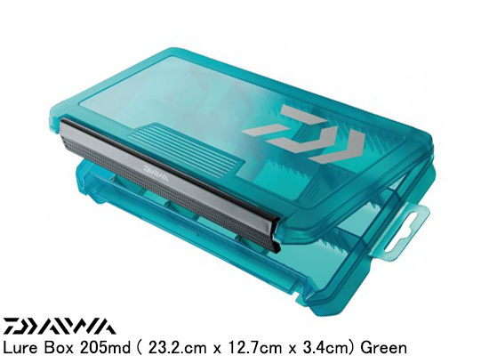 DAIWA LURE BOX 232M - GREEN