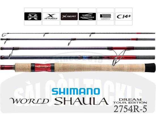 SHIMANO WORLD SHAULA TOUR EDITION 2754R-5 ( PHIÊN BẢN GIỚI HẠN - MADE IN JAPAN )
