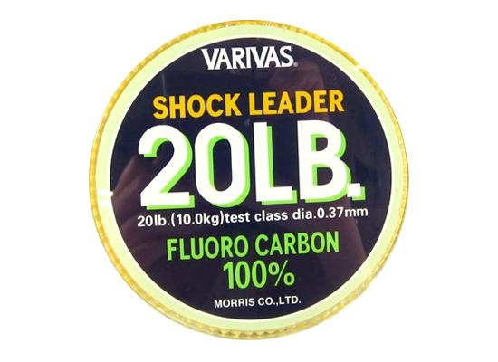 VARIVAS SHOCK LEADER 100% FLUORO - 20LB (30 mét)