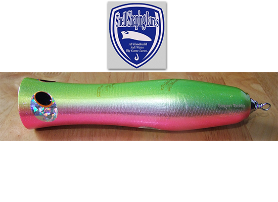 SHELL SHARPING LURE G2 TOP PINK-GREEN - 170Gam