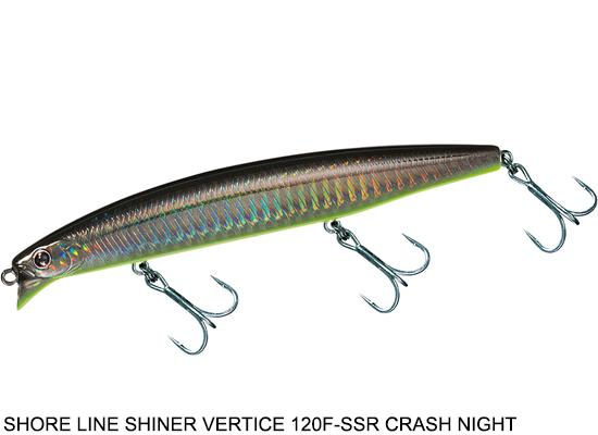 SHORELINE SHINER Z-V120F-SSR CRASH NIGHT