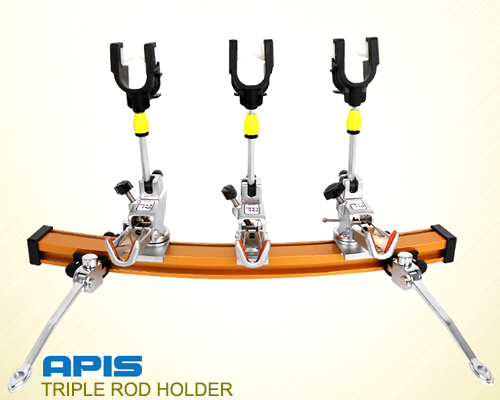 APIS TRIPLE ROD HOLDER